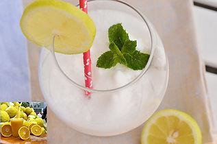 Acqua, limone e bicarbonato da Aurelio alla Torretta fine tour enogastronomico di irentbike.it