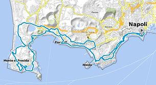 "Percorso bike tour ""In giro tra i Campi Flegrei"" con irentbike.it"