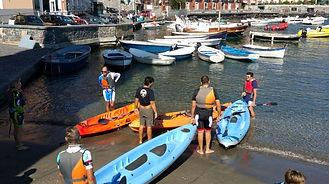 Tour in kayak a Napoli lungo la costa di Posillipo, by irentbike.it