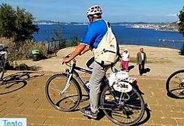 Virgiliano park Naples, during bike tours, Bike & Kayak, with irentbike.com