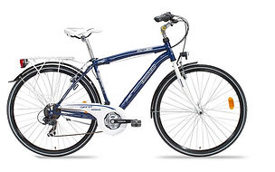 City bike for Bike tour Boat & Bike In the Gulf of Naples. by irentbike.com