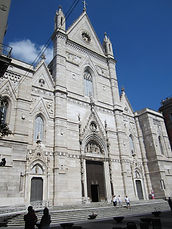 Cathedral of Naples, treasure of San Gennaro during bike tours, by irentbike.com