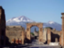 visit the Pompeii excavations, with irentbike.com