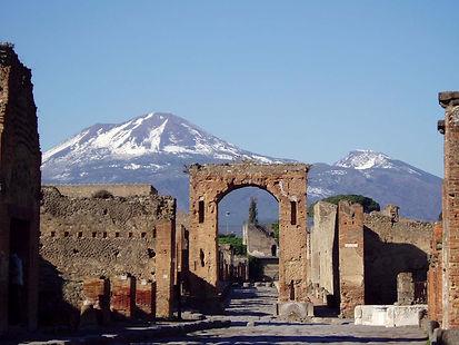 Scavi di Pompei, visita in bike tour con irentbike.it