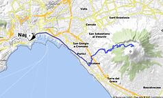 Tour in bici, La scalata del mitico Vesuvio e visita alla Reggia di Portici.con irentbike.it