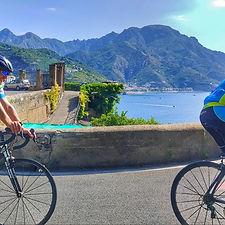 Bike tour Pompeii, Vesuvius and Amalfi coast, with irentbike.com