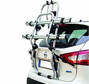 Rental car with bike carrier, by irentbike