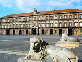 Tour in bici, visita al palazzo-reale-Piazza_del_plebiscito, by irentbike.it