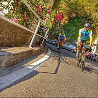 Bike tour Boat & Bike visit at Positano in bike, by irentbike.com
