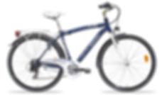 """Bicicletta city bike utilizzata per il tour in bici """"Cartolina di Napoli"""" con irentbike.it"""