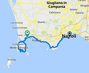 Percorso bike tour 2 giorni Il meglio dei Campi Flegrei, con irentbike.it