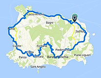 Tour Boat&Bike, visit to the island of Ischia, by irentbike.com