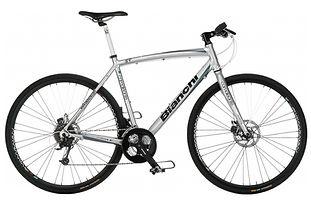 Bicicletta Bianchi Camaleonte utilizzata durante il bike tour di irentbike.it