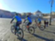 """Bike tours """"Napoli in Breve"""" in Piazza del Plebiscito, by irentbike.it"""