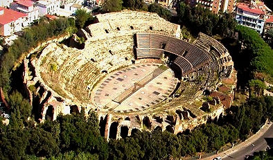Bike tour and guided visit the Flavian Amphitheatre, with irentbike.com