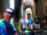 Visita alla piscina Mirabilis di Bacoli durante bike tours di irentbike.it
