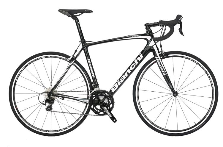 bici da corsa bianchi intenso