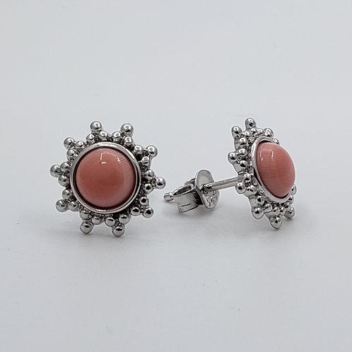 "Conch Shell ""Sun"" Earrings"