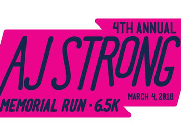 4th Annual AJ Strong Memorial Run - 6.5k