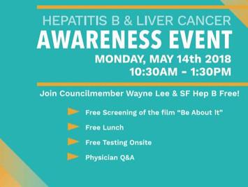 Hepatits B & Liver Cancer Awareness Events