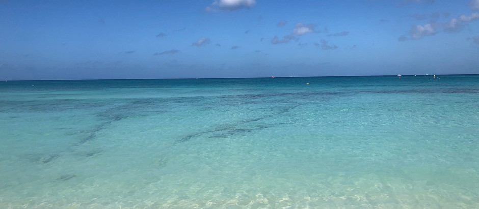 Relaxing in the Caymans