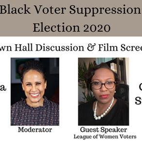 Black Voter Suppression: Election 2020