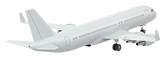 Airplane-isolated-on-transparent-backgro