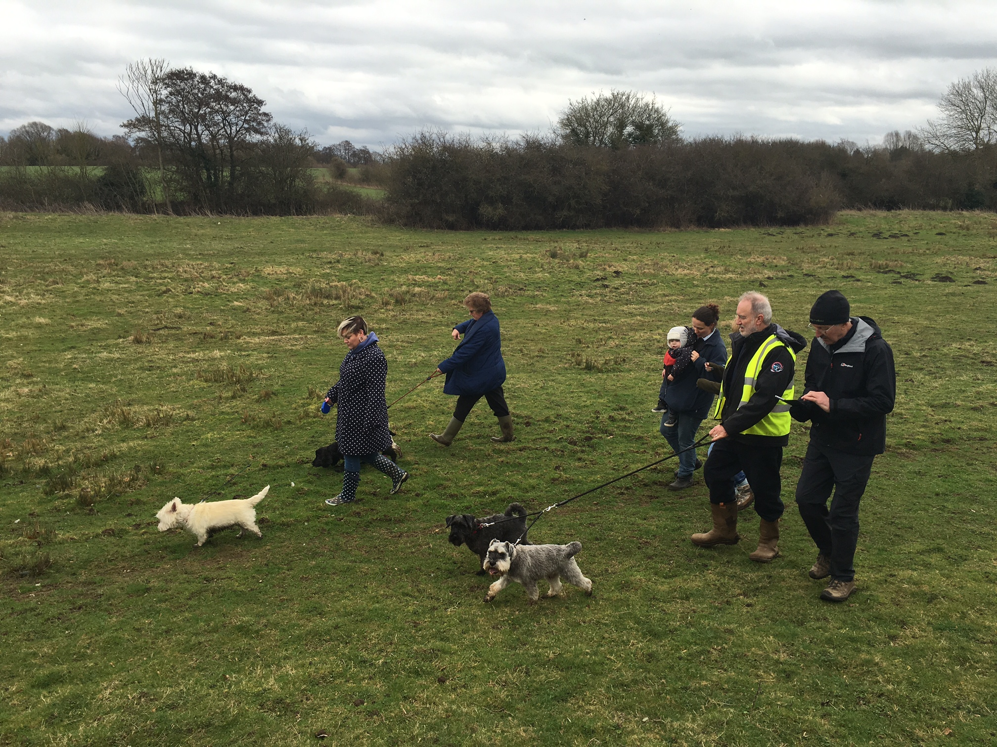 Palgrave Dog Walk