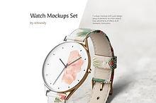 Watch Mockups Set