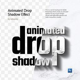 Animated Drop Shadow Effect