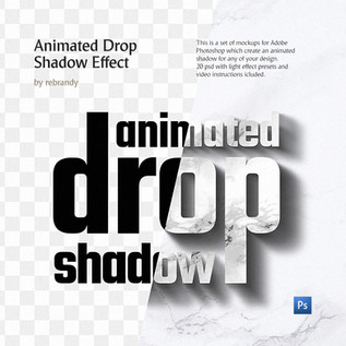 Animated Drop Shadow Effect