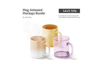 Mug Animated Mockups Bundle