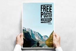Freebie! Poster Mockup