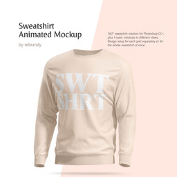 Sweatshirt Animated Mockup