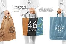 Shopping Bags Mockups Bundle