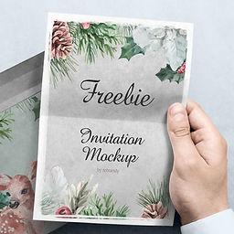 Freebie! Invitation Mockup