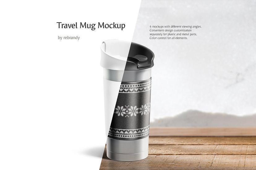 Travel Mug Mockup