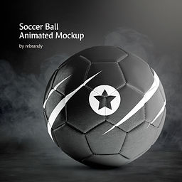Soccer Ball Animated Mockup
