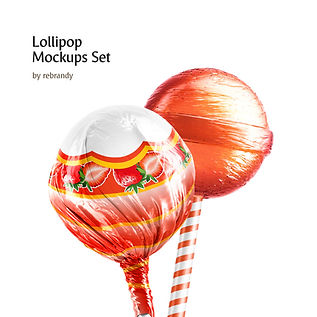 Lollipop Mockups Set
