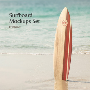 Surfboard Mockups Set