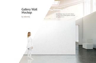 Gallery Wall Mockup