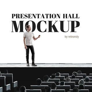 Presentation Hall Mockup