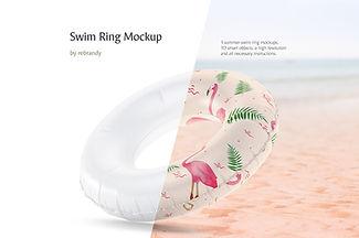 Swim Ring Mockup