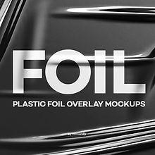 Plastic Foil Overlay Mockups