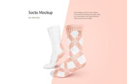 Socks Mockup