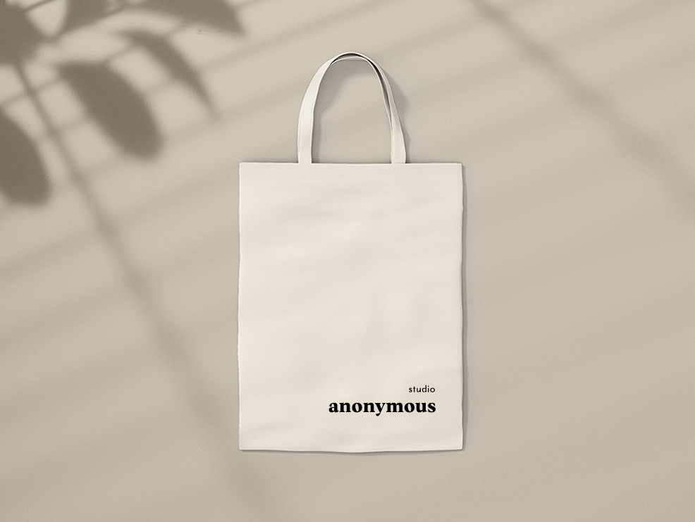 BRANDED CANVAS TOTE BAG