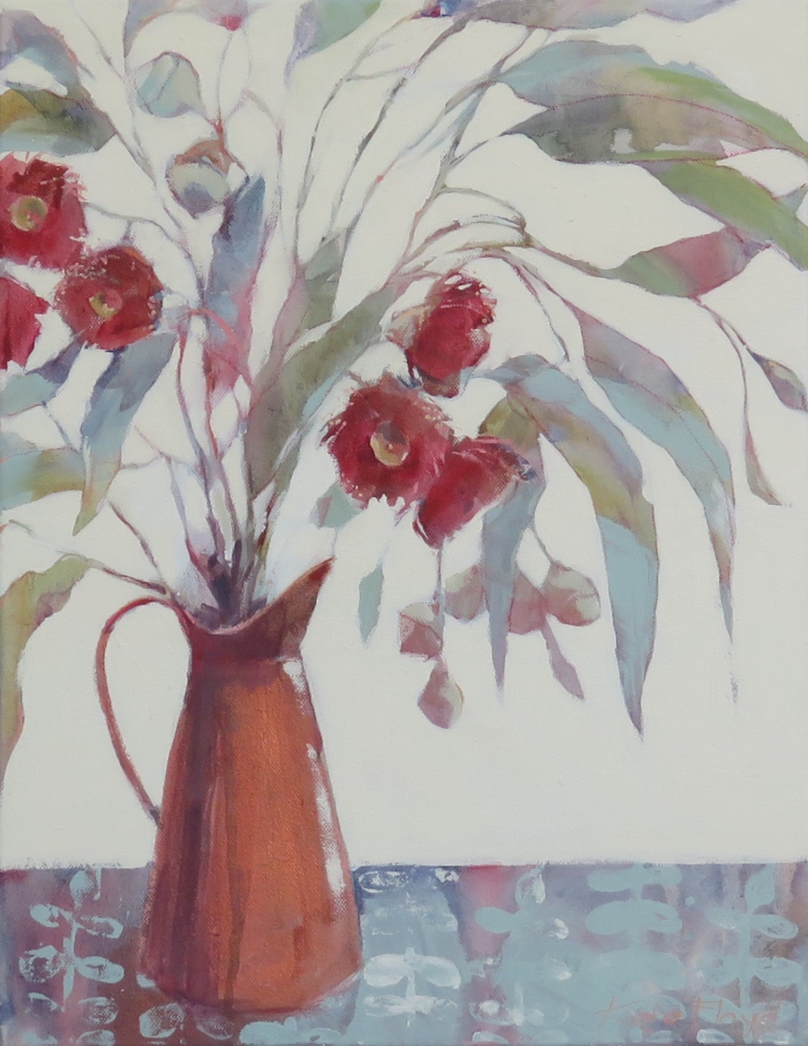 Silver Princess 2018 Acrylic on canvas 3