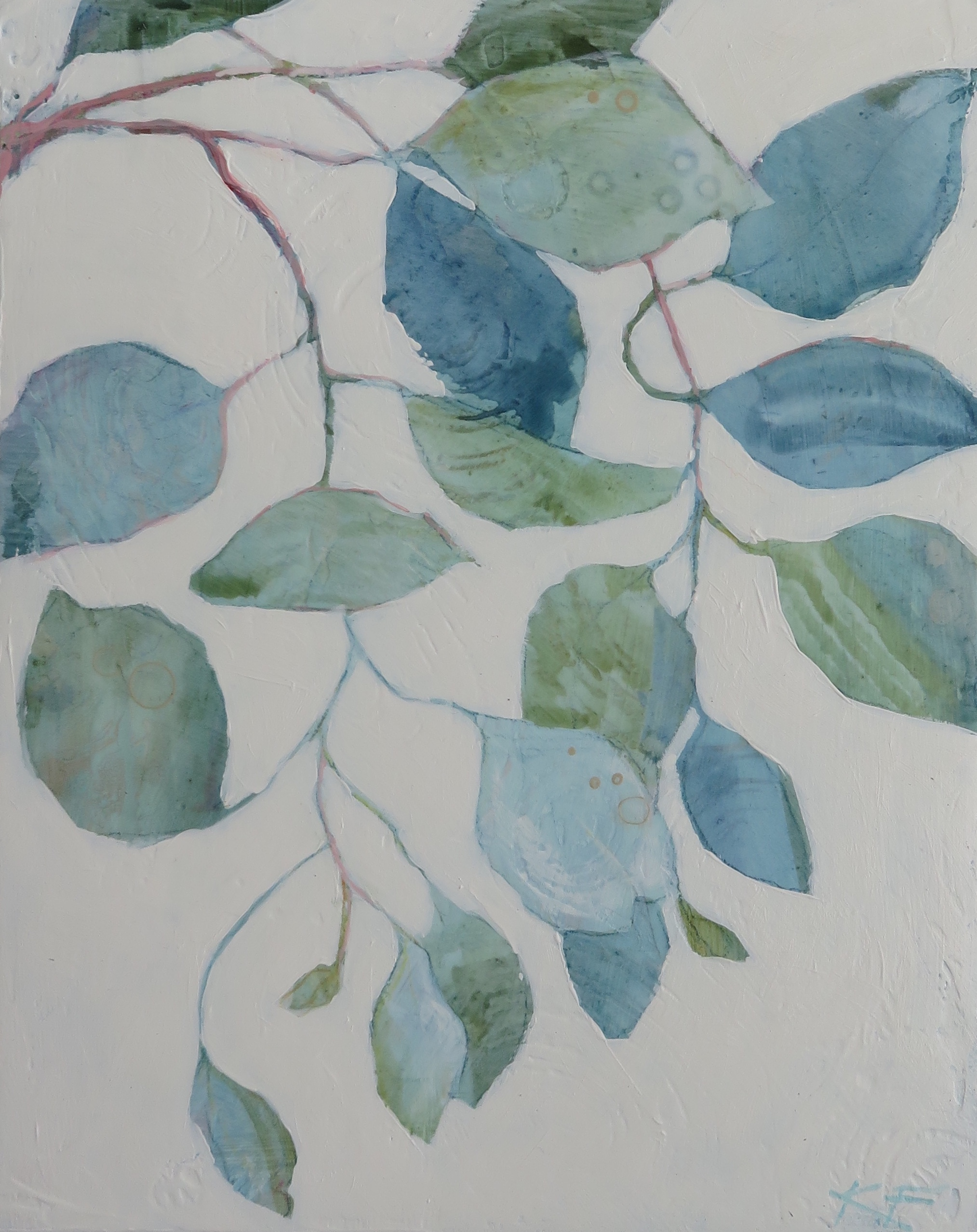 Leaf Patterns I, 2018