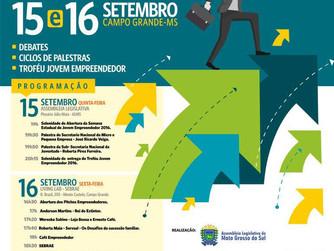 Semana do Jovem Empreendedor de Mato Grosso do Sul será nos dias 15 e 16 de setembro