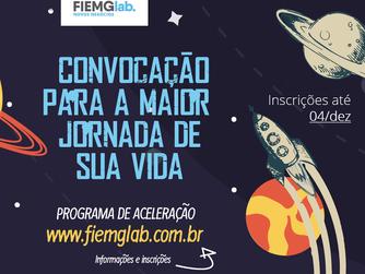 FIEMG Lab abre inscrições para primeira jornada de aceleração